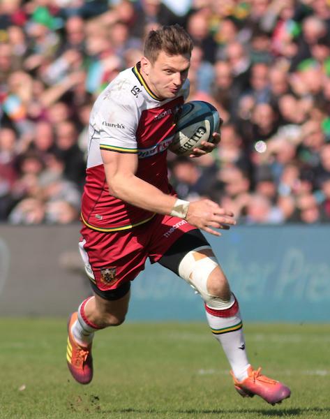 Dan Biggar of Northampton