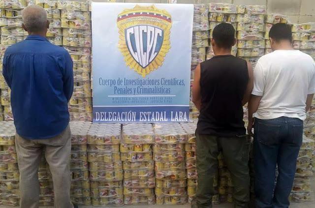 """Banda de  """"Los Diabéticos"""" se robaron 8000 potes de leche condensada"""