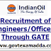 IOCL Engineers and Graduate Apprentice Engineers Recruitment through GATE 2020