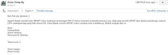 Email Tawaran Kerjasama Dari Hostinger - Blog Mas Hendra