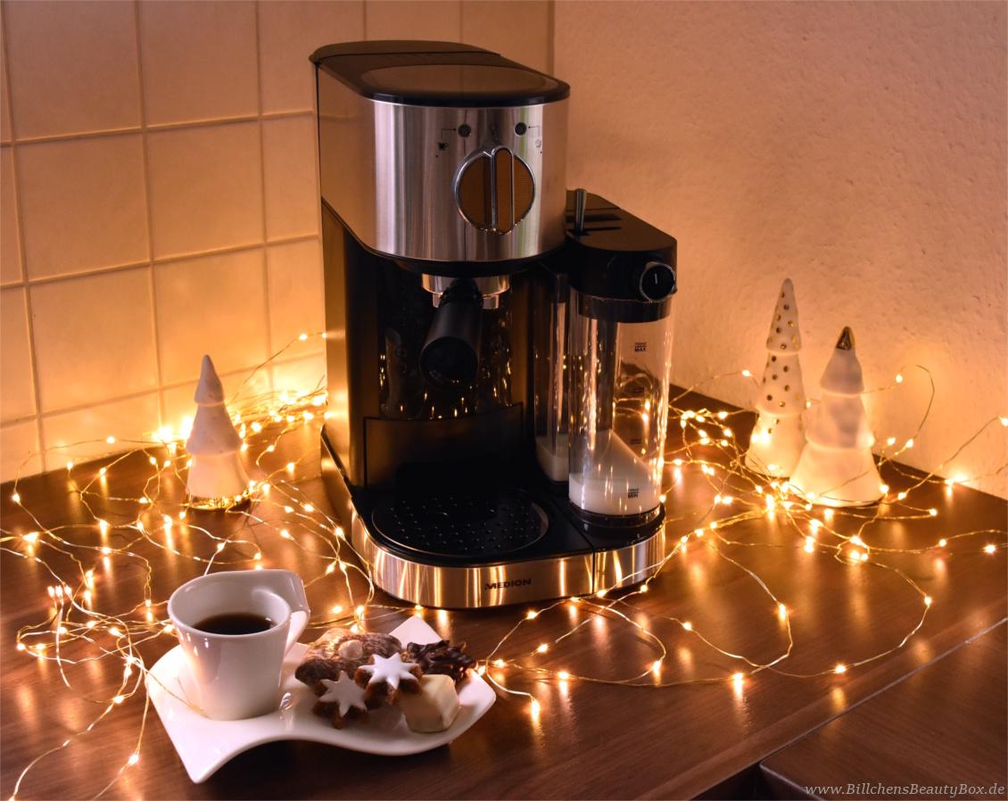 MEDION Espresso Maschine MD 17116 - Adventskalender Gewinnspiel