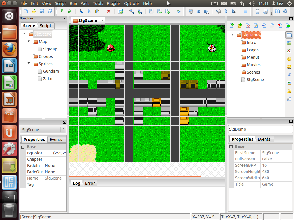 Linux Game Development Tools and Game Engines - 2D 3D Engines
