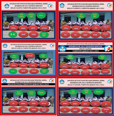 KKM K-13 Kondisi Khusus Kelas 1 S/D Kelas 6 SD/MI Terbaru 21