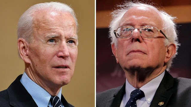 Politics : Bernie Sanders Fears Joe Biden Will Lose to Trump Without More Radical Agenda