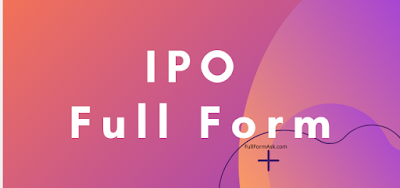 IPO full meaning