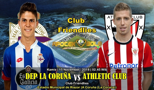 Prediksi Dep La Coruna Vs Athletic Bilbao 15 November 2018