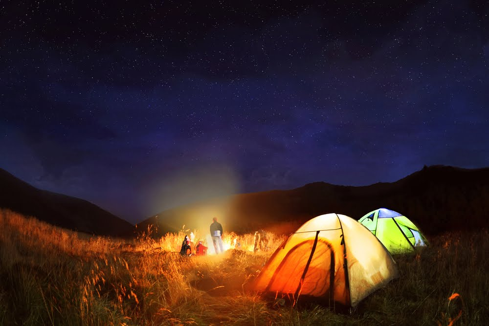 Camping trips are a great way to explore the outback