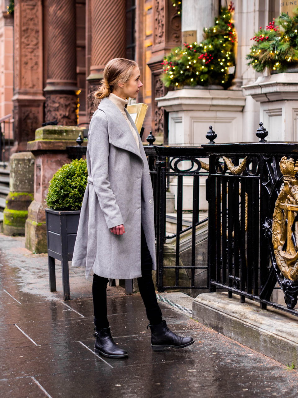 Scandinavian chic winter outfit - Skandinaavinen talviasu
