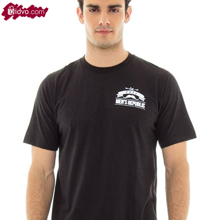 Kaos Mens Republic Cambridge - Black | Lengan Pendek