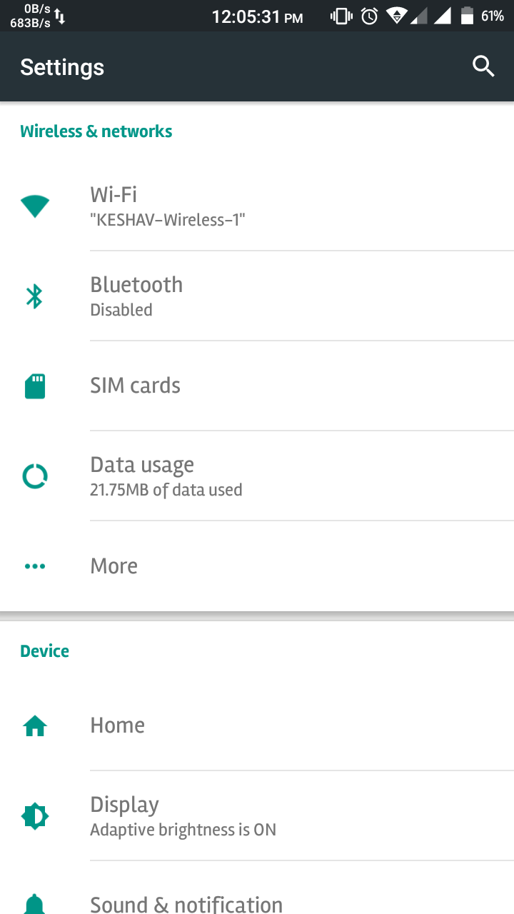 Screenshot_2017-03-20-12-05-33 Offical Stock Lollipop (Changed Model) For Lava Iris X8 L [MT6592] Root