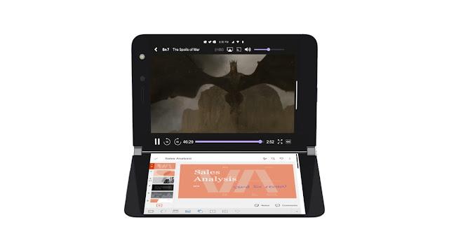 Microsoft Surface Duo الجديد من ميكروسوفت