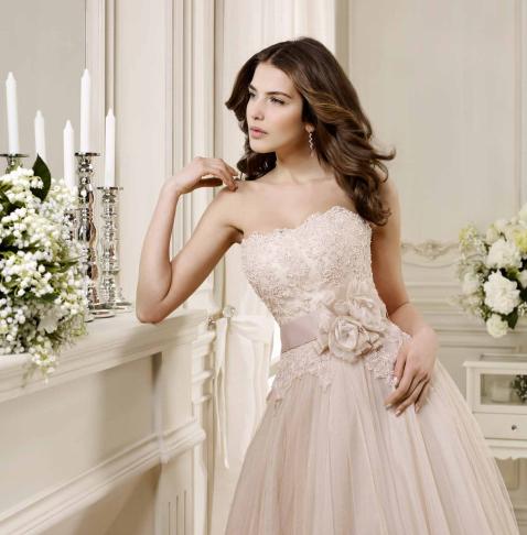 abito da sposa Nicole 2014