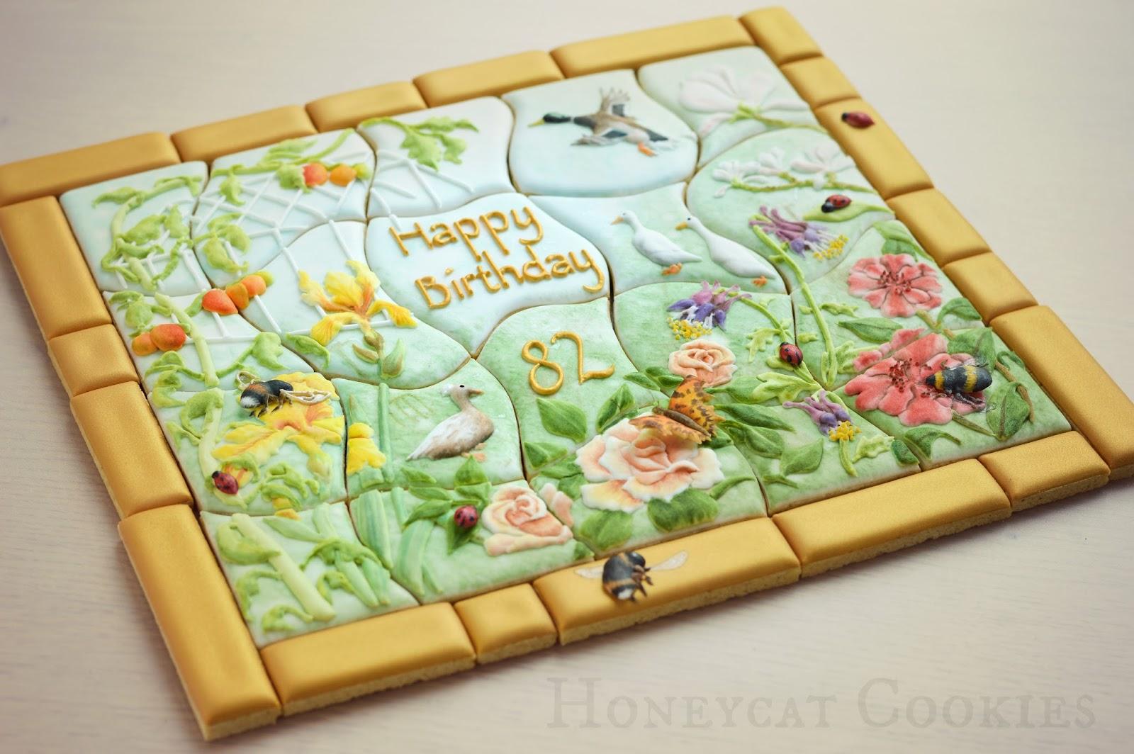 Garden Cookiesaw Cookie Jigsaw Puzzle