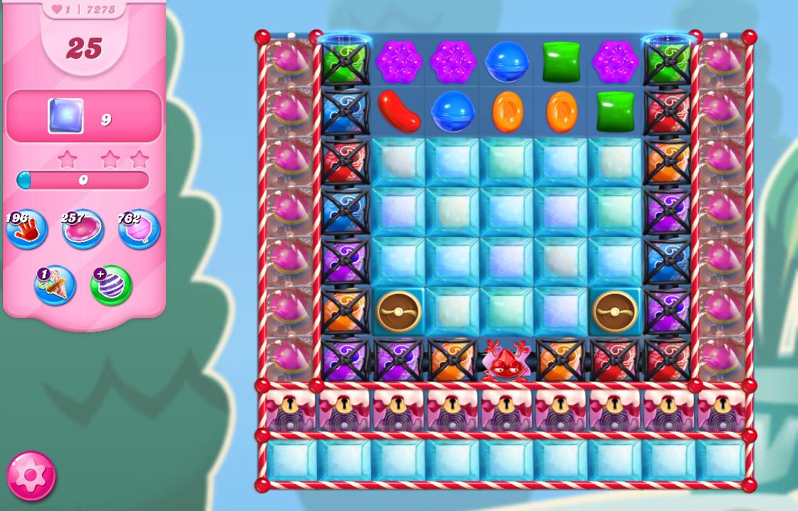 Candy Crush Saga level 7278