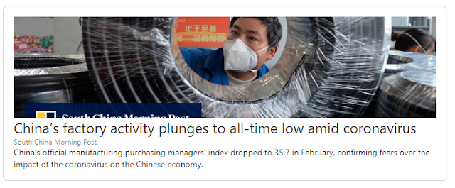 China factory activity plunges