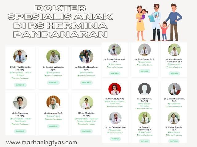 dokter spesialis anak di RS Hermina Pandanaran Semarang