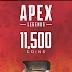 Apex Legends 11500 Coins VC PC