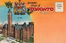 Left Chapter Souvenir Views Of Toronto Canada