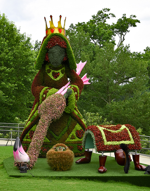 Alice's Wonderland Reimagined | Atlanta Botanical Garden | Photo by Travis Swann Taylor