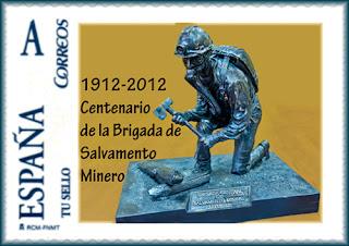 sello, tu sello, personalizado, Brigada, Salvamento, Minero