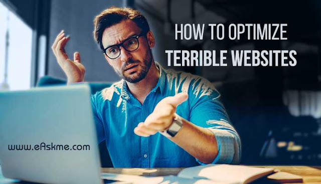 How to Successfully Optimize Terrible Websites: eAskme