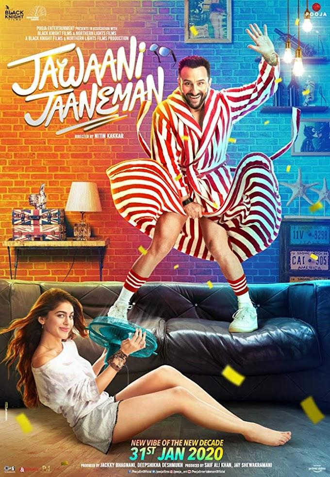 Jawaani Jaaneman (2020) Hindi Movie 720p HDRip
