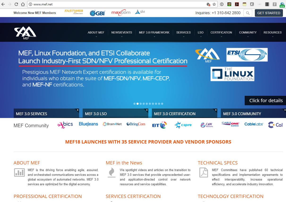 Converge! Network Digest: MEF
