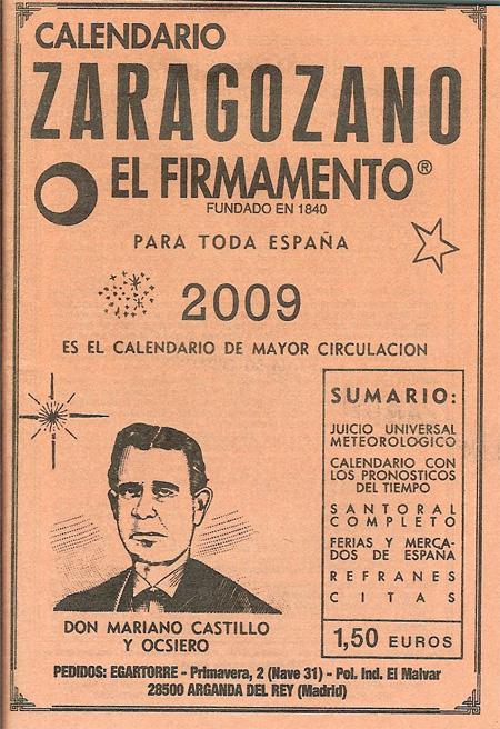Calendario Cabanuelas.Las Cabanuelas Memoria Residual