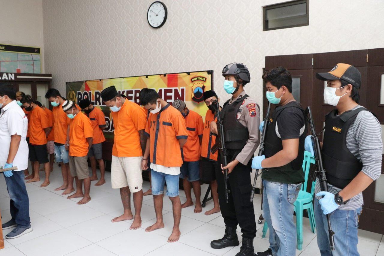 Sat Reskrim Polres Kebumen Berhasil Ungkap Jaringan Pencurian Kabel Telkom Lintas Provinsi