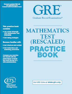 Gre mathematics test practice book