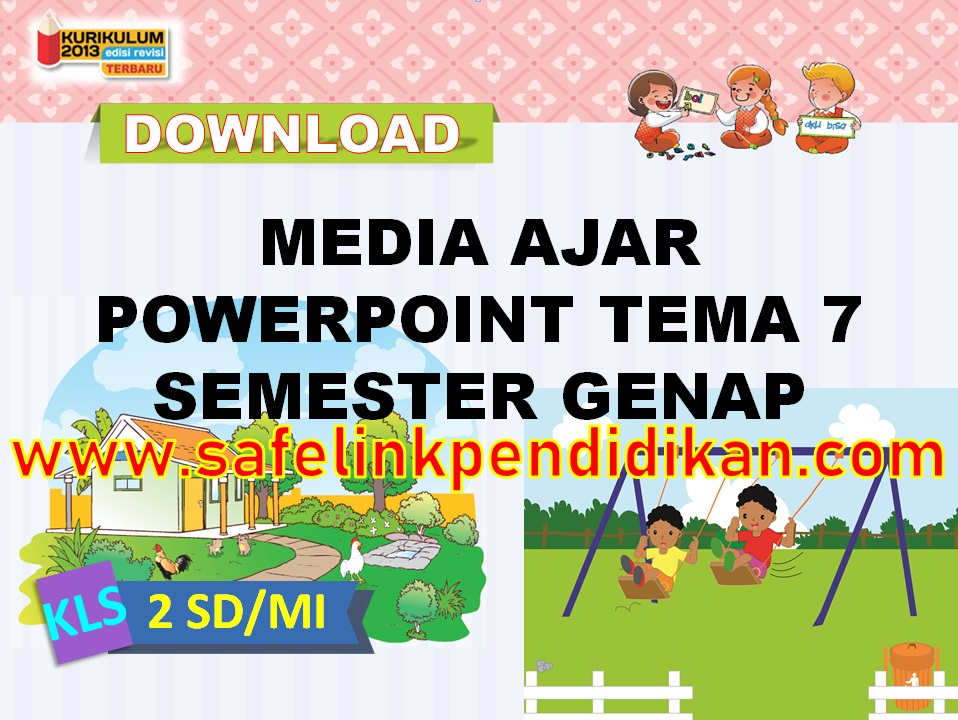 Media Ajar Powerpoint Tema 7 kelas 2 sd/mi