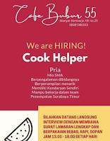 Bursa Kerja di Cafe Bubur 55 Surabaya Juni 2021