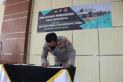Bidang Humas Polda Jatim Siap Wujudkan WBK dan WBBM Satker di Polda Jatim