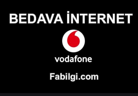 Vodafone 1 GB Bedava İnternet Kazanma Hilesi Şubat 2021