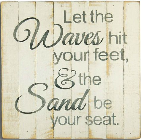 Ocean Wave Quote Sign