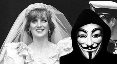 Anonymous group says royal family had princess diana killed