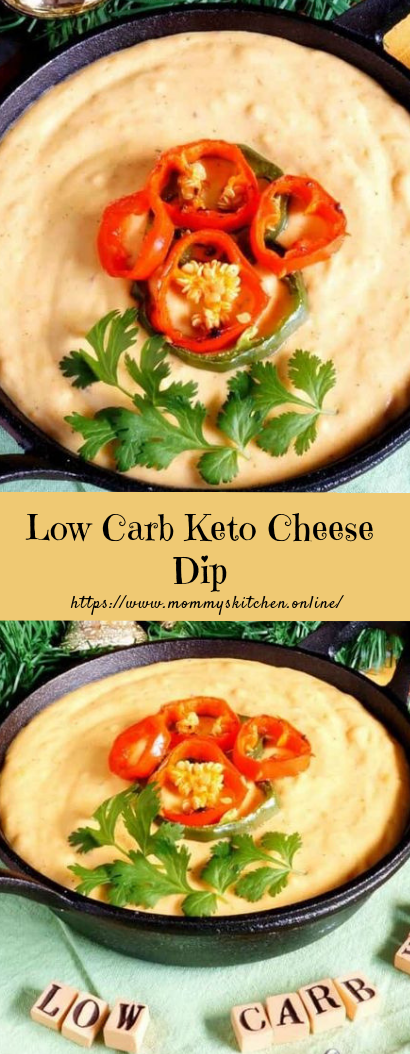 Low Carb Keto Cheese Dip #healthy #keto