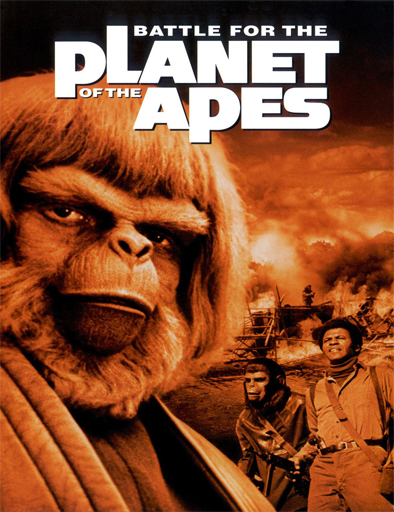 Ver La batalla por el planeta de los simios (1973) Online