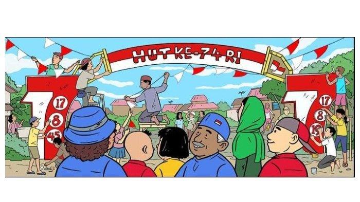 Google Doodle Kemerdekaan Indonesia Tahun 2019