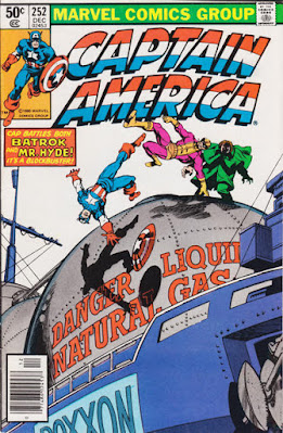 Captain America #252, Batroc and Mr Hyde