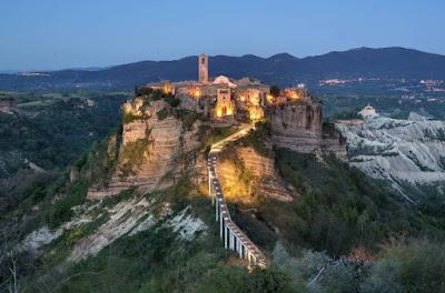 Vacanze e viaggi nel Lazio - Cose da vedere - Civita di Bagnoregio