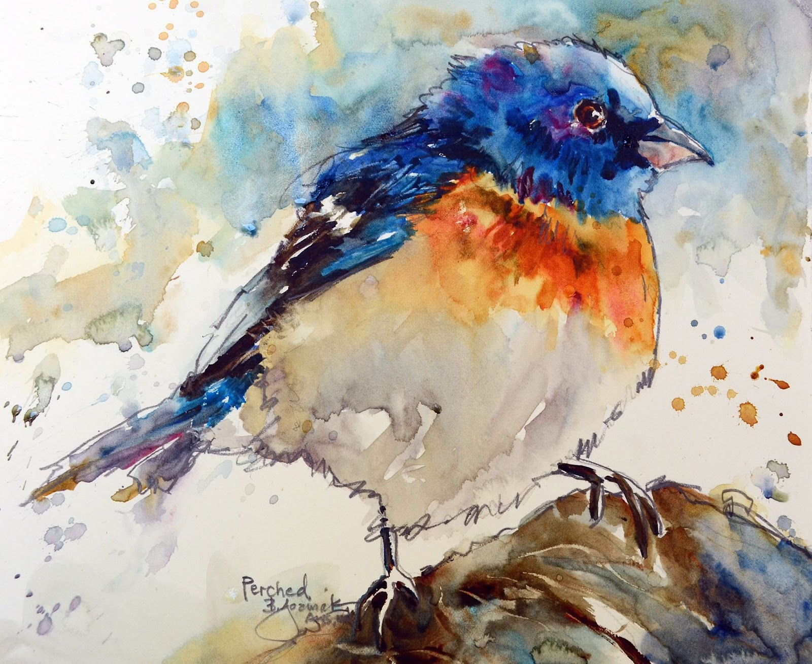 The Watercolour Log: Watercolour Paintings (22)