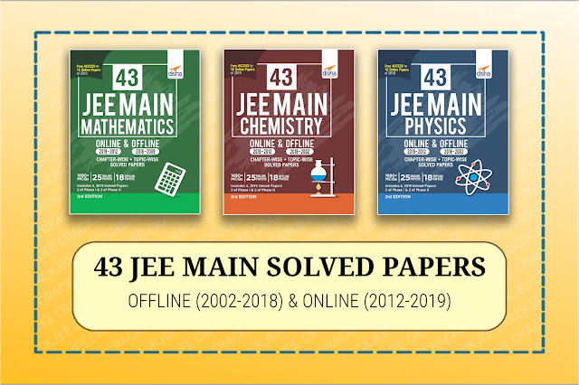 Download Disha Set of 43 Physics,Chemistry, Mathematics JEE Main Solved Papers (2002-2019) EBOOK Pdf