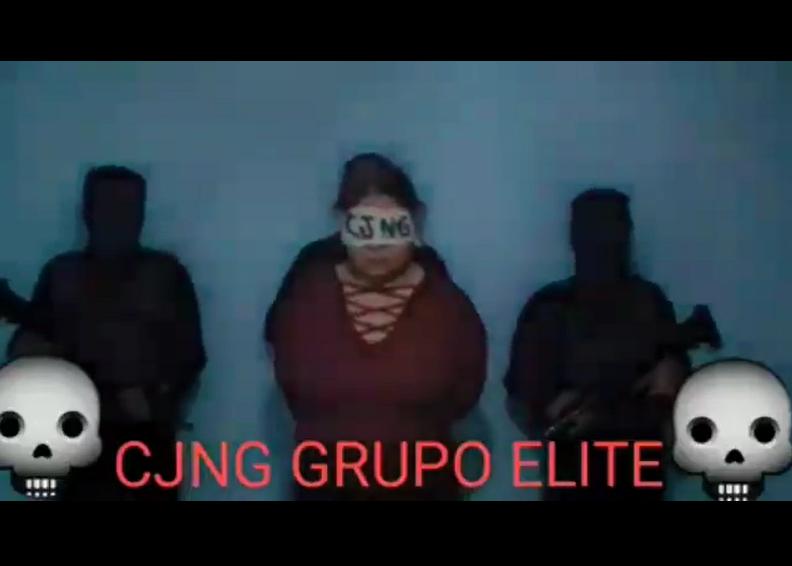 Video: Así el Grupo Elite del CJNG interrogó a DIANA antes de ejecutarla, descuartizarla y regarla en Celaya; Guanajuato