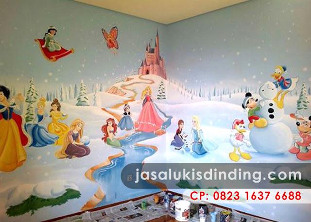 Lukisan Dinding Kamar Anak Perempuan