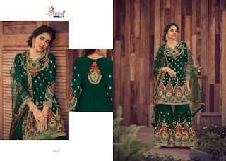Shree Fab Shehnai Bridal Collection 5 Wedding Pakistani Suits