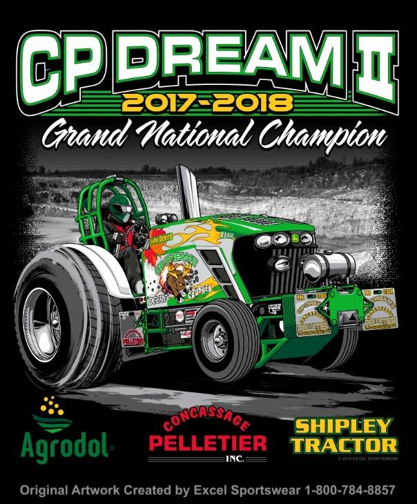Tractor Pulling News - Pullingworld com: NTPA GN Pro Stock Champion