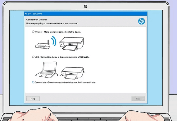 hp wireless printer setup