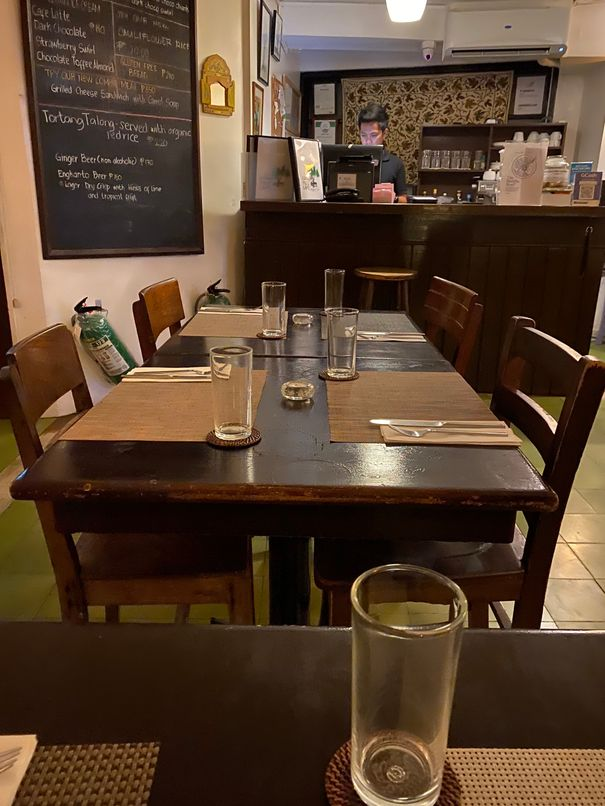 Inside the Corner Tree Café