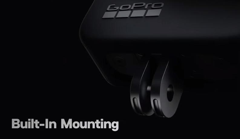 Встроенное крепление GoPro Max